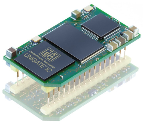 Figure 1: Ready-to-install DIL 32 bus node: UNIGATE IC from Deutschmann Automation