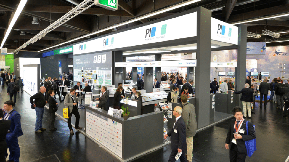 Joint PI Stand at the SPS/IPC/Drives Trade Fair – At the Center of Industry 4.0