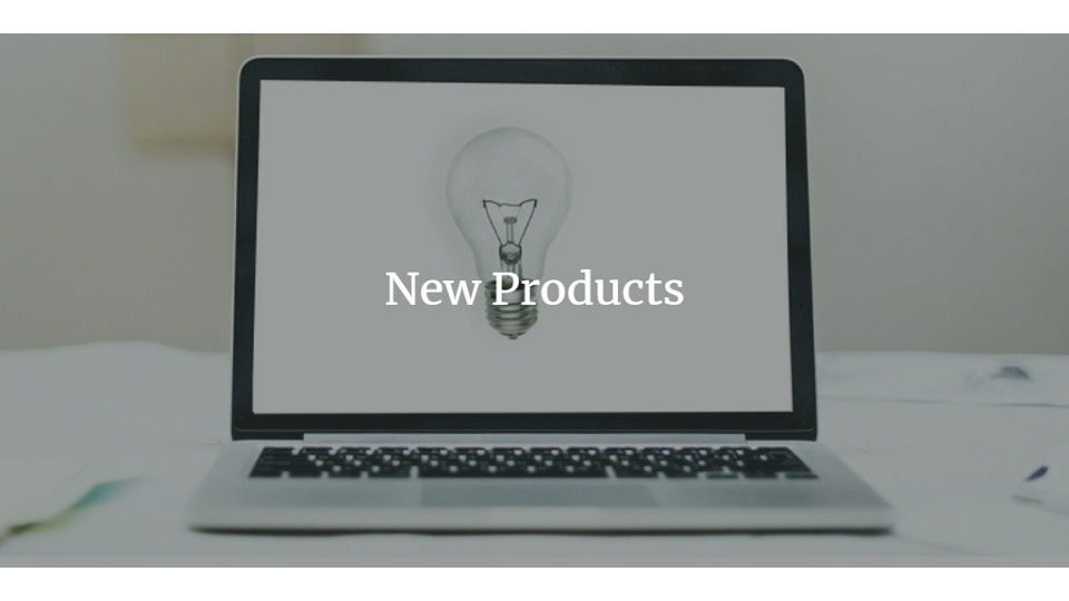 New Products – January 2020